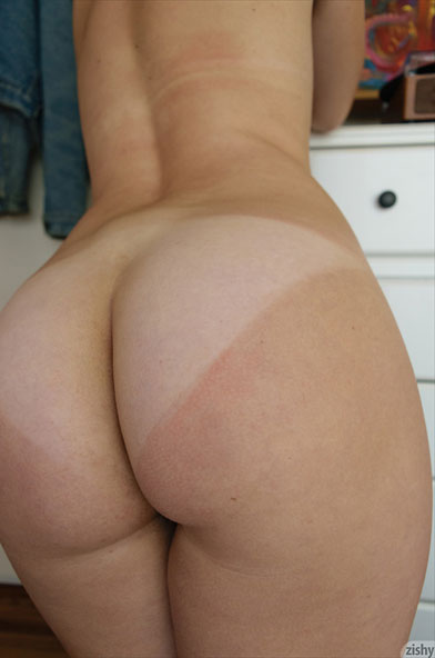 Tan Lines On A Sexy Naked Ass